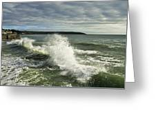 Sea Waves2 Greeting Card