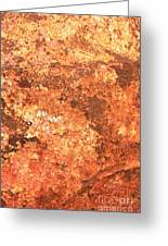 Sea Weathered- Abstract Art Greeting Card