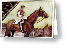 Seabiscuit  Greeting Card