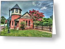 Seaboard Railroad Station Suffolk Va No.1 Greeting Card