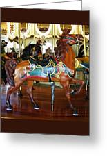 Seabreeze Carousel Horse Greeting Card