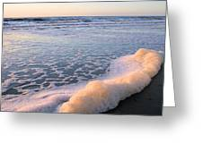 Seafoam Greeting Card