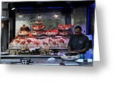 Seafood Restaurant 1 Greeting Card