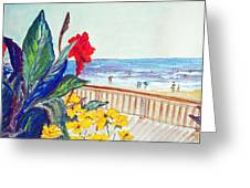 Seafront Greeting Card