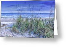 Seagrass And Sand Greeting Card