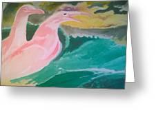 Seagulls Greeting Card