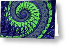 Seahawks Spiral Greeting Card