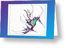 Seahorse Fun Greeting Card
