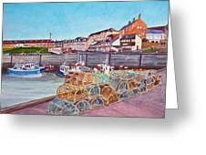 Seahouses IIi Greeting Card