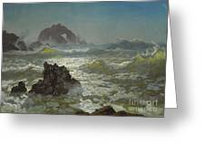 Seal_rock,_california Greeting Card