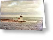 Seamans Light Greeting Card