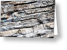 Abstract Rock Stone Texture Greeting Card