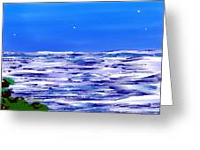Sea.moon Light Greeting Card
