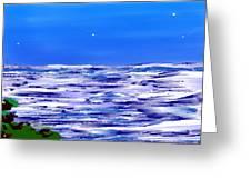 Sea.moon Light Greeting Card
