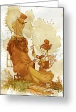 Seamstress Greeting Card