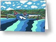 Seaplane 1 Greeting Card