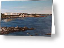 Seapoint From Salthill Greeting Card