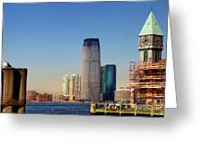 Seaport Ny Greeting Card