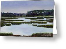 Searching Savannah Marsh By Marilyn Nolan- Johnson Greeting Card