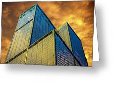 Sears Tower By Skidmore, Owings And Merrill Dsc4411 Greeting Card