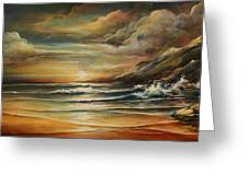 Seascape 3 Greeting Card