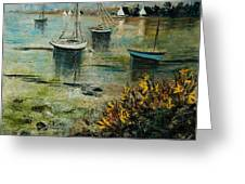 Seascape 78 Greeting Card