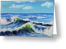 Seascape No.3 Greeting Card