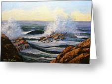 Seascape Study 1 Greeting Card