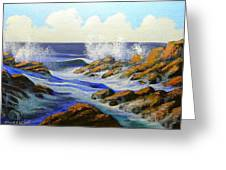 Seascape Study 2 Greeting Card