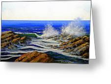 Seascape Study 4 Greeting Card