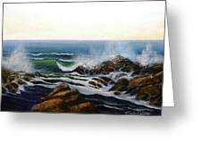 Seascape Study 5 Greeting Card