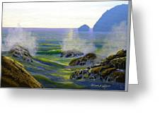Seascape Study 7 Greeting Card