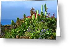 Seaside Garden Greeting Card