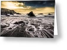 Seaside L/r Greeting Card