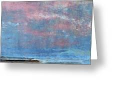 Seaside Panorama Greeting Card