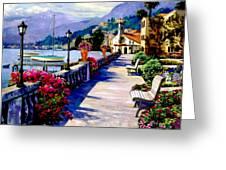 Seaside Pathway 3 Greeting Card