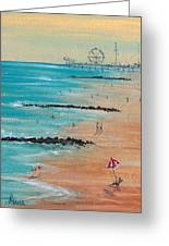 Seaside Greeting Card