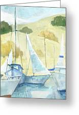 Seaside Sails Greeting Card