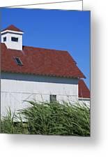Seaside Schoolhouse Greeting Card