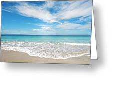Seaside Serenity Greeting Card