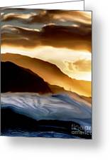 Seaside Storm Greeting Card