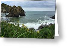 Seaside View - Portugal Greeting Card