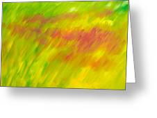 Season Of The Red Grass Greeting Card