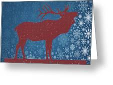 Seasonal Greetings Artwork Greeting Card
