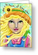 Seasons Of Wonder Summer Greeting Card