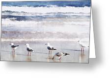 Seaspray Greeting Card
