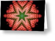 Seastar Lightmandala 2 Greeting Card