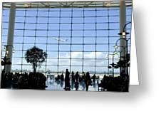 Seatac Airport K088 Greeting Card