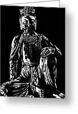 Seated Buddha Greeting Card