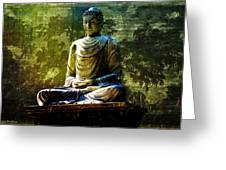 Seated Buddha Greeting Card